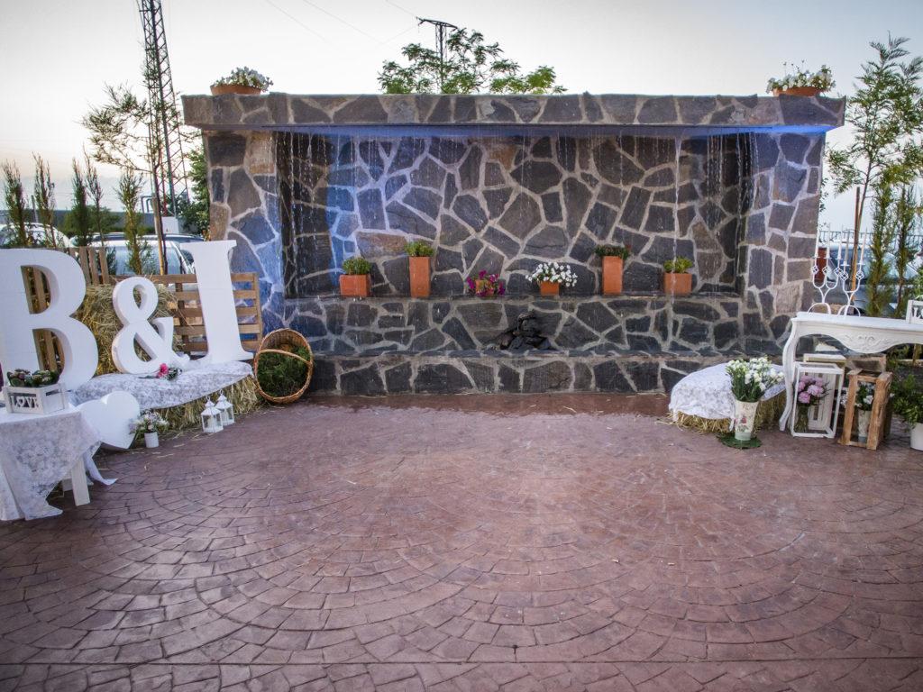 Celebración de boda civil en Mirador de Puerta Real (Mancha Real).
