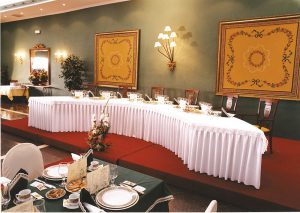 Salón de bodas antiguo