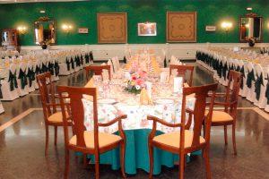 Mesa de boda anterior a Mirador de Puerta Real