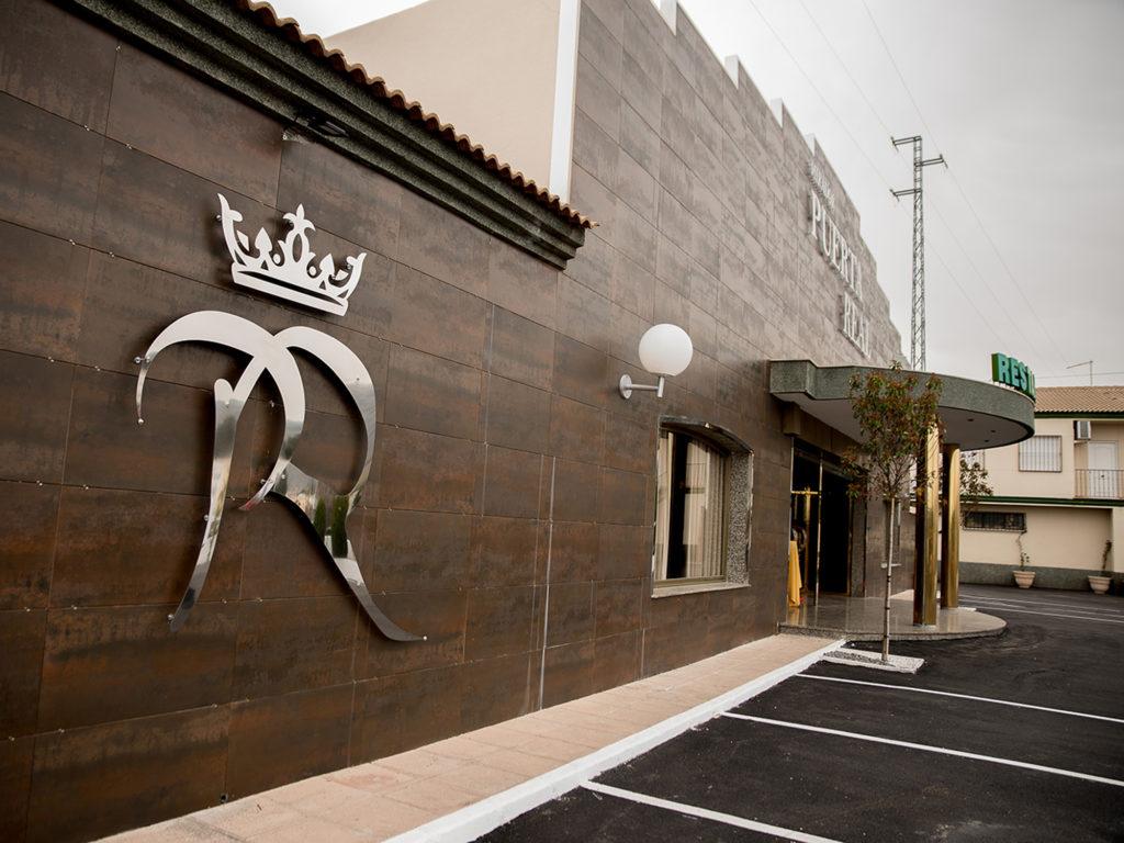 Entrada a Mirador de Puerta Real (Mancha Real).