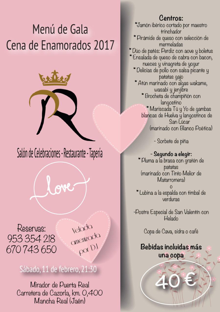 Cena Enamorados 2017